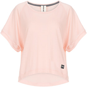 super.natural Motion Peyto - Camiseta manga corta Mujer - rosa